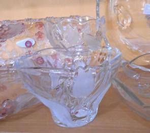 Bol sticla Walther-Glas - 15 cm, lalele
