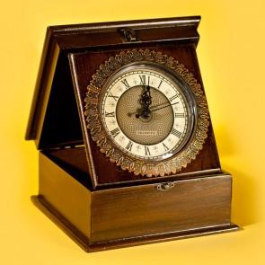 Ceas lemn cutie - simpla