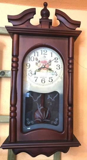 Ceas lemn perete cu pendul - tip 4