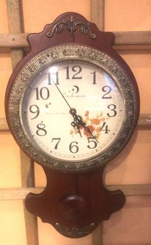 Ceas lemn perete cu pendul - tip 3