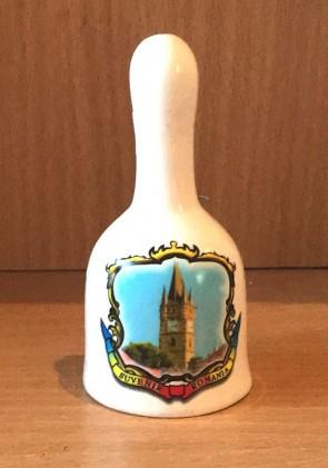 Clopotel ceramica suvenir -Baia Mare- 11 cm