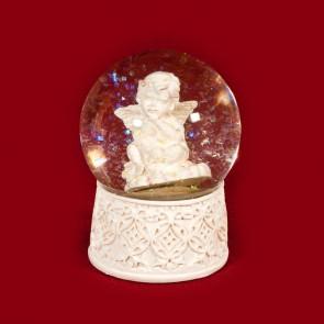 Glob inger - decoratiune craciun- 9 cm - tip II