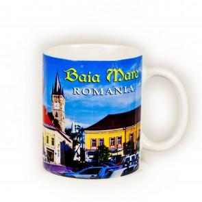 Cana  imprimata - 250 ml -  Baia Mare -  Turnul lui Stefan
