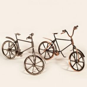 Bicicleta metal - macheta, 19 cm