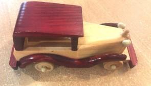 Masina lemn - macheta, 15 cm-tip 4