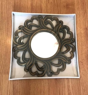 Oglinda de perete-24 cm-model retro