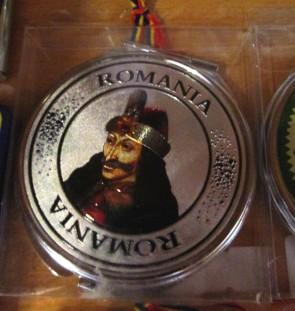 Oglinda de poseta rotunda, 7,5cm - Vlad Tepes