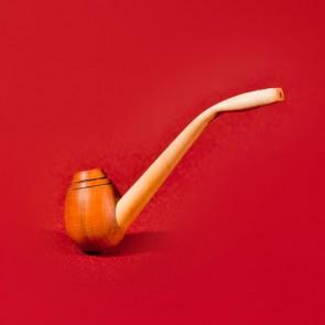 Pipa lemn traditionala  - mica