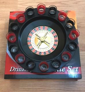 Set cadou pentru barbati - ruleta cu shot-uri