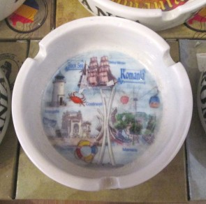 Scrumiera ceramica suvenir -Marea Neagra- 8,5 cm