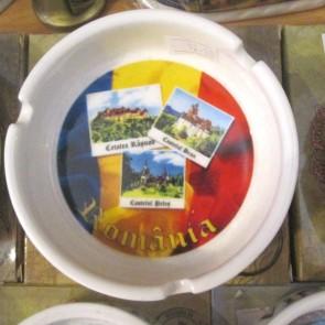 Scrumiera ceramica suvenir -Cetati- 10cm