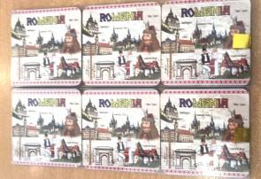 Set 6 suporturi de pahare - Orase din Romania