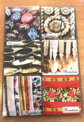 Set 6 suporturi de pahare -Traditii