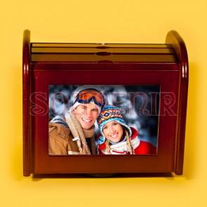 Album foto din lemn - 18x20 cm