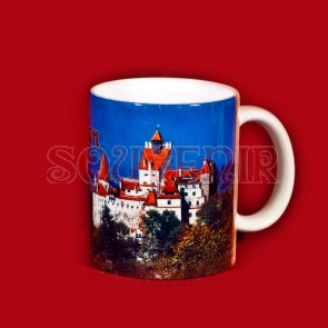 Cana  imprimata - 250 ml - Castelul Bran + Dracula