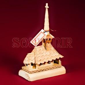 Biserica lemn maramureseana - tip II, macheta