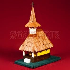 Biserica lemn maramureseana - tip I, macheta