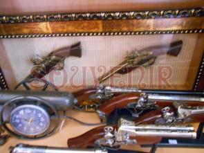 Tablou cu doua arme - 36 x 82 cm